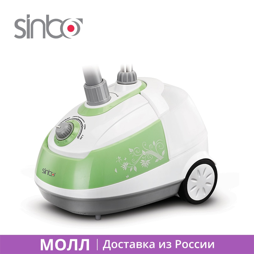 Sinbo SSI 2893 Garment Steamer with Steam Brush 2000W Different Temperature for All Materials Family Used Caring for Clothes
