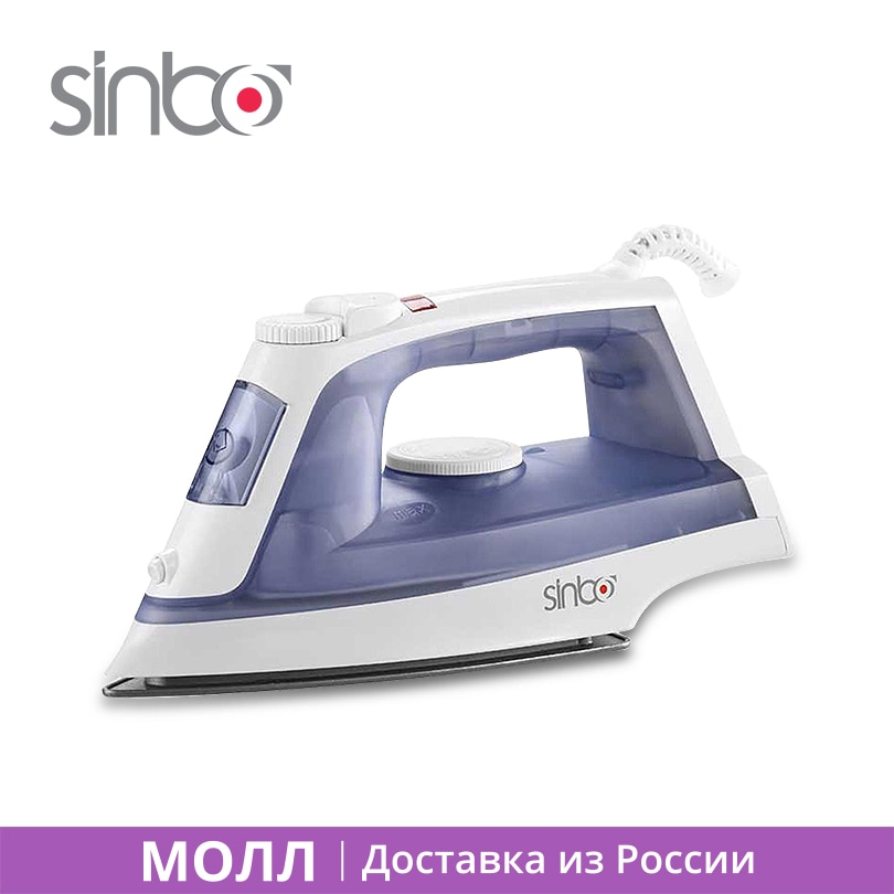 Sinbo SSI 2868 Electric Irons 1800W Clothes Steamer Iron Selfcleaning Fast heating Iron