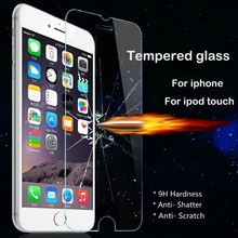 Screen Protector Tempered Glass for iPhone 4 4s 5 5S SE 6 6S Plus 7 7plus for iPod touch 4 5 6 Toughened Glass Protective film