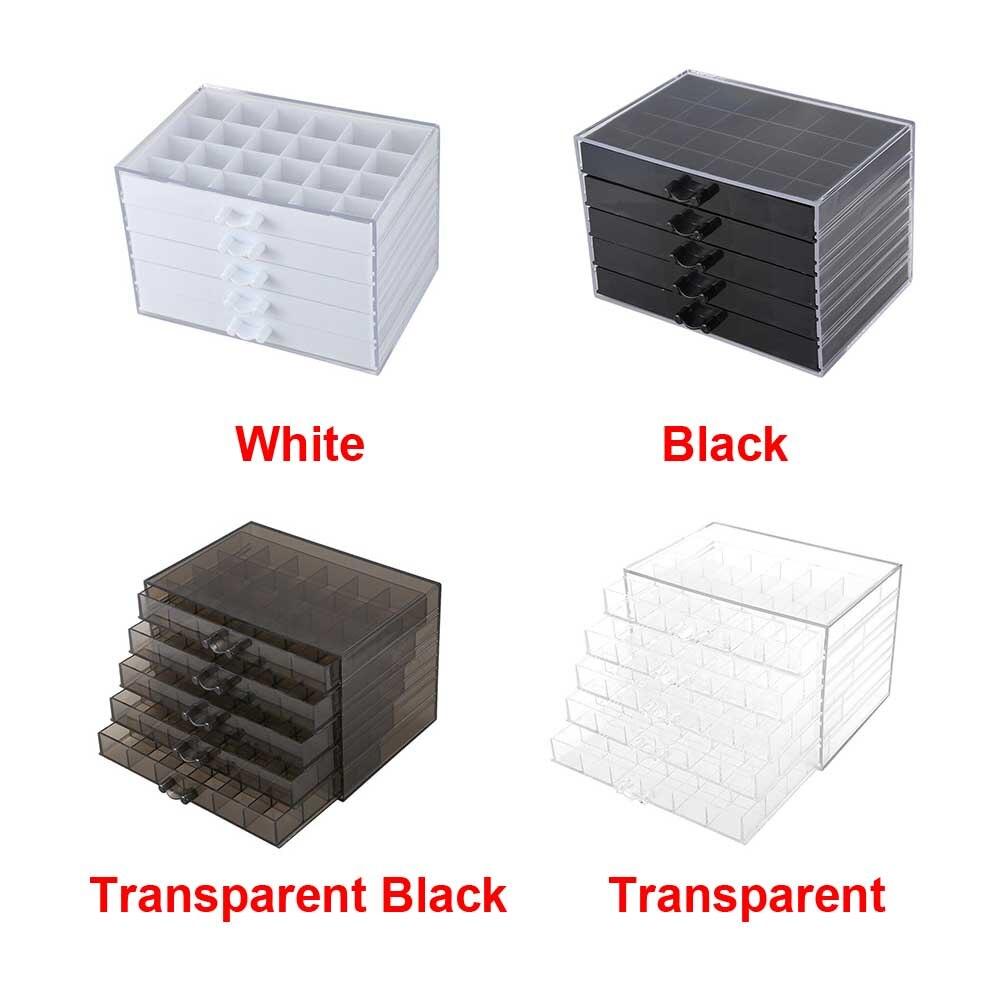 manicure ferramenta exibição grande capacidade organizador