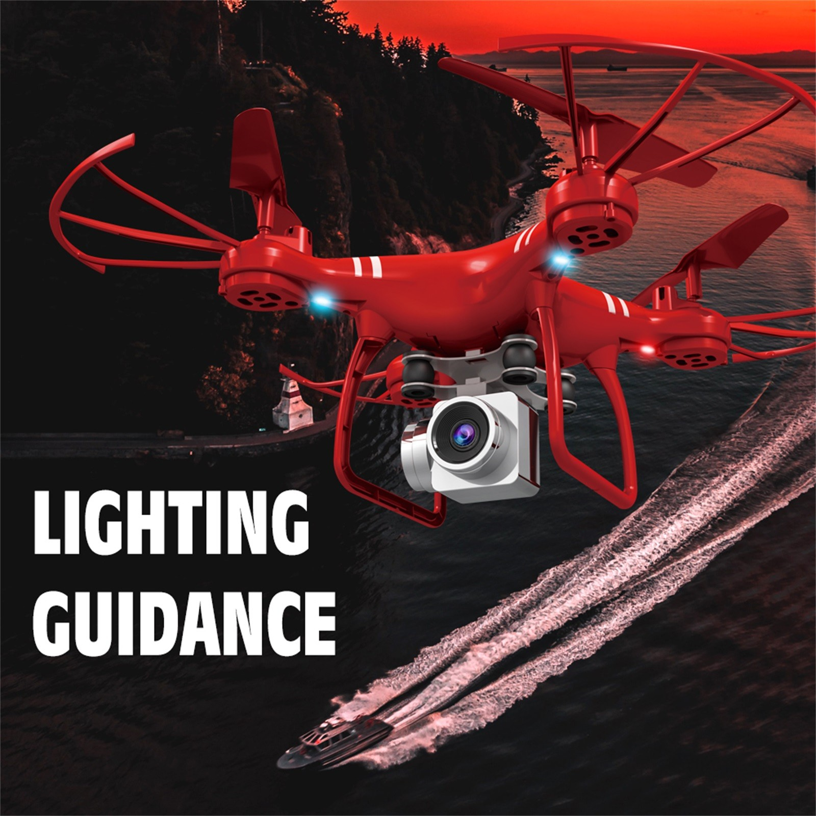 H095f563da8794b3e9b05c3330d954472H - Hjhrc Four-axis Aerial Photography Aircraft Drone With Camera Hd 4k Wifi Fpv Foldable Drone Height Holding Headless Quadcopter