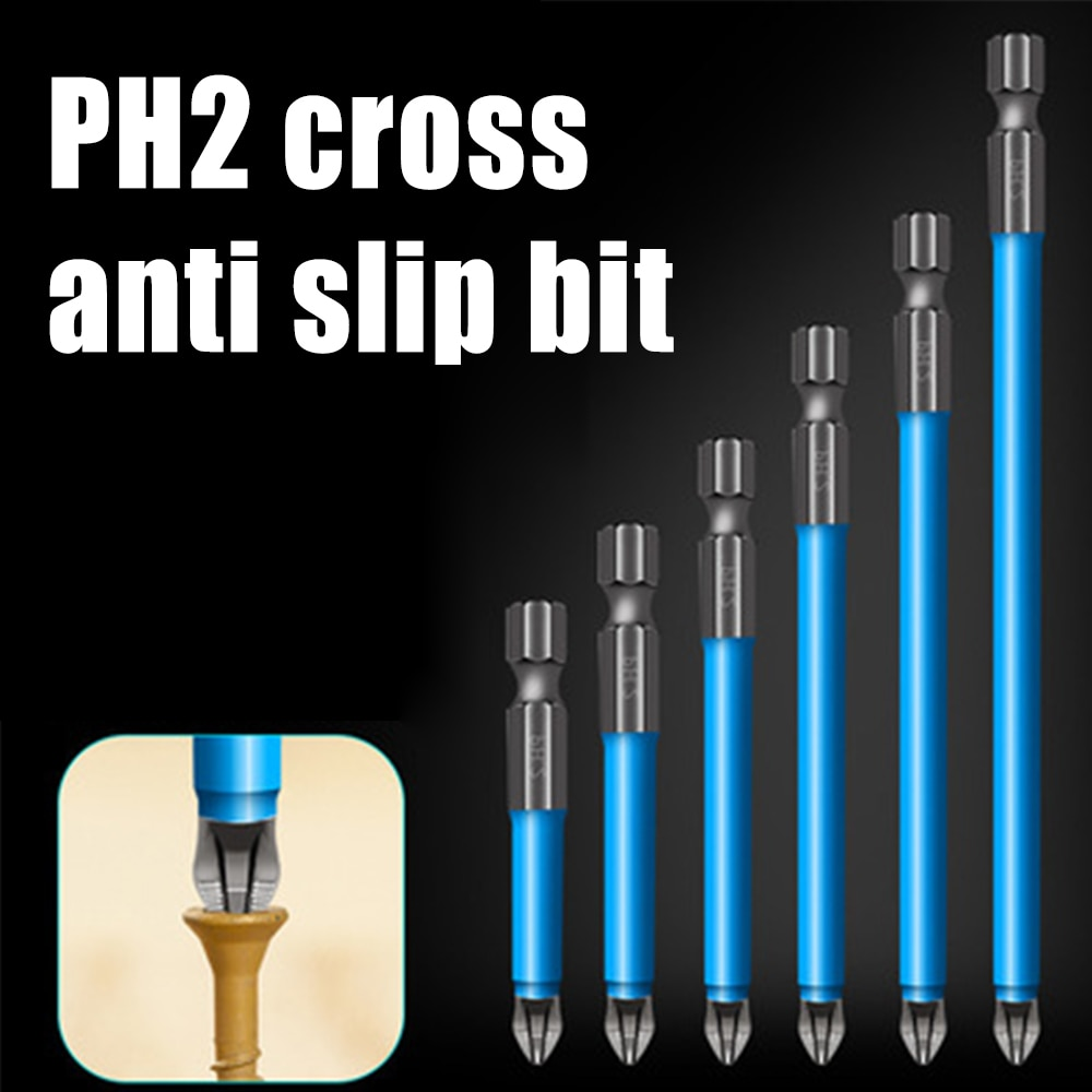 Magnetic Anti Slip Drill Bit Set