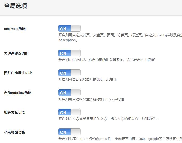 wordpress程序seo优化插件