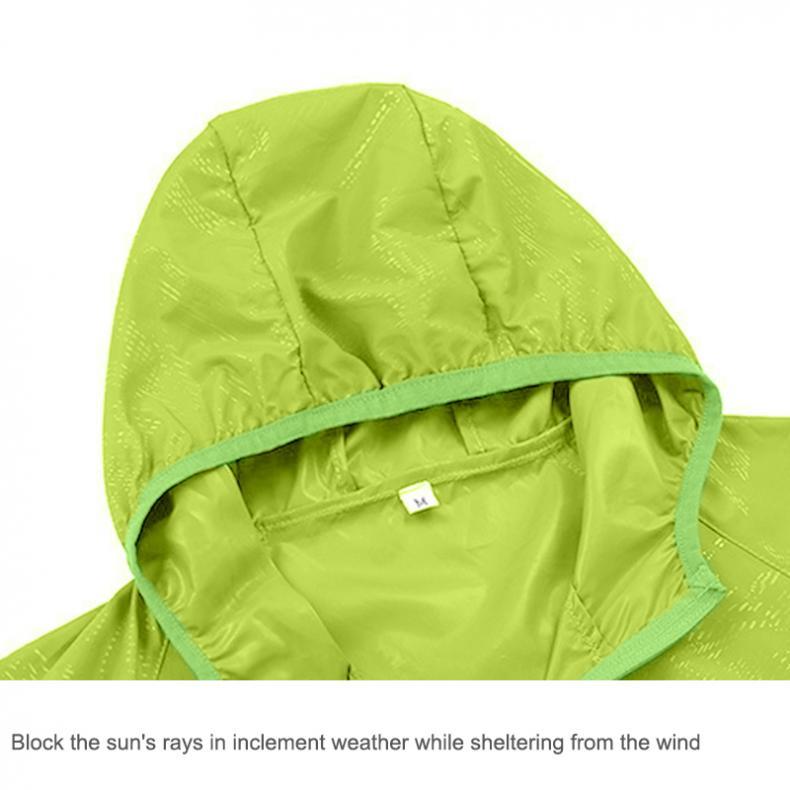 uv casacos esportes ao ar livre pesca pele jaquetas