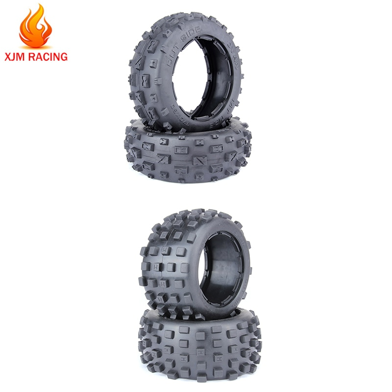 Front Or Rear Knobby Tires Front Size 170x60 Rear Size 170x80 For 1 5 Hpi Rofun Rovan Km Baja 5b Ss Rc Car Gas Toys Parts Tires For Rc Tires 1 5rc Car Tires Aliexpress