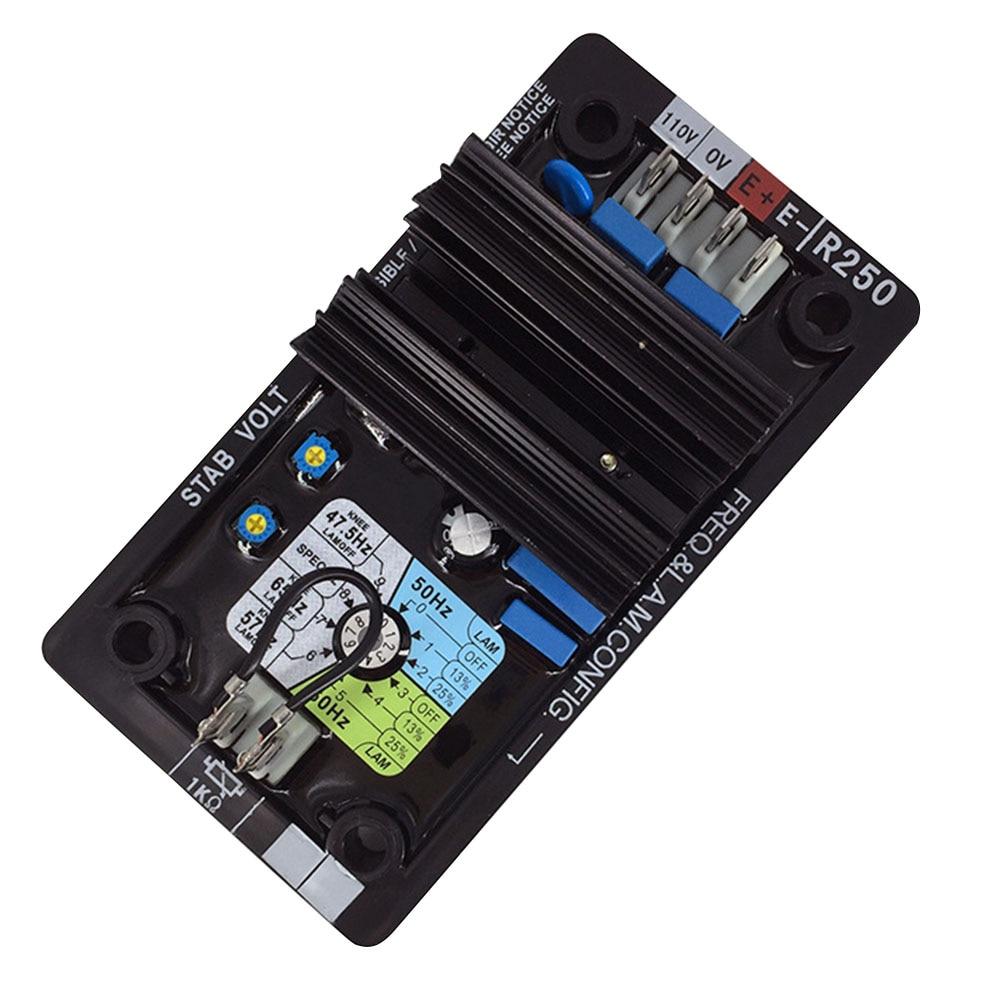 Avr r250 módulo acessórios elétricos estabilizador automático