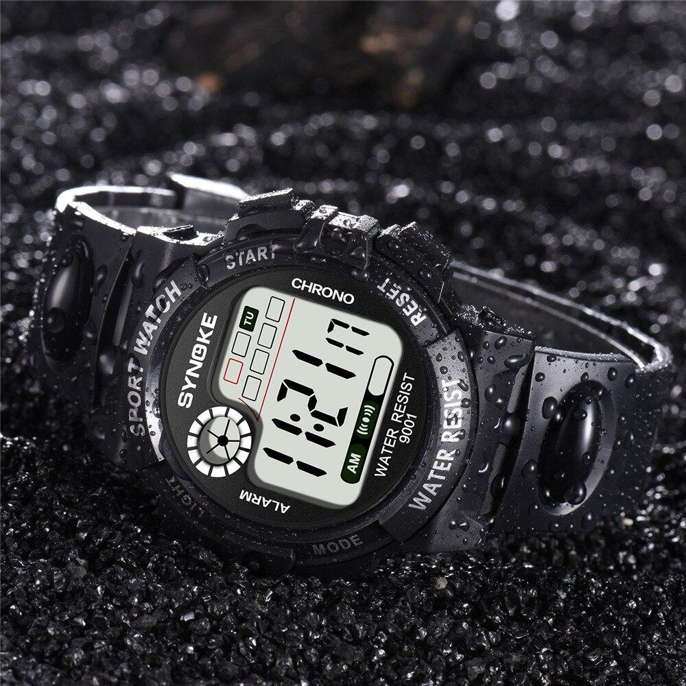 Synoke Multi-function Beautiful Watch Men Sport 2021