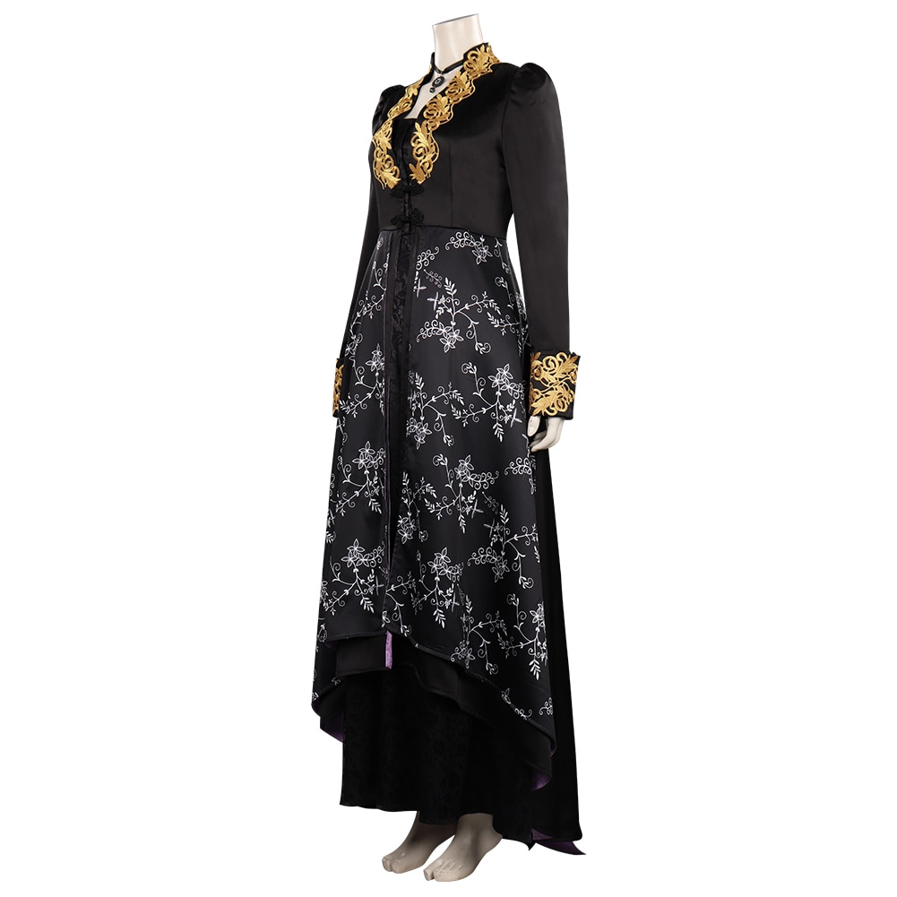 Yennefer cosplay traje roupas vestido halloween carnaval terno para meninas femininas