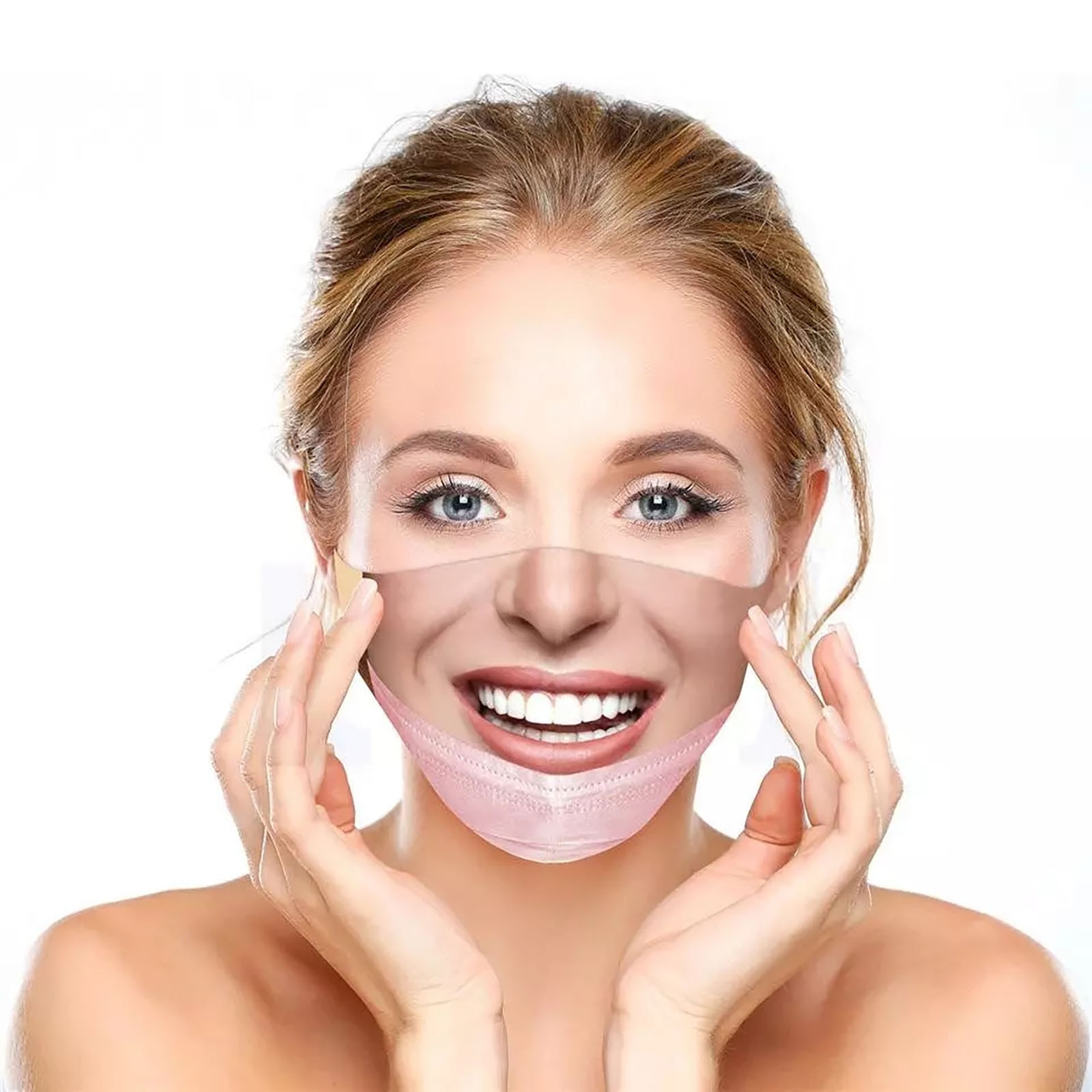 Funny 3D Human Face Mask (BUY 1 GET 1 FREE)
