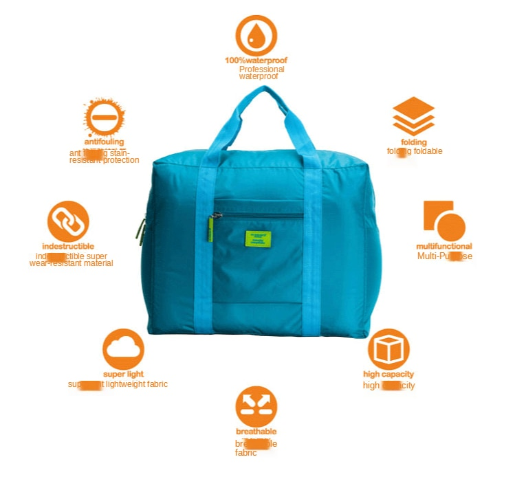 bagagem roupas saco de classificação oxford roupas duffle saco de embalagem