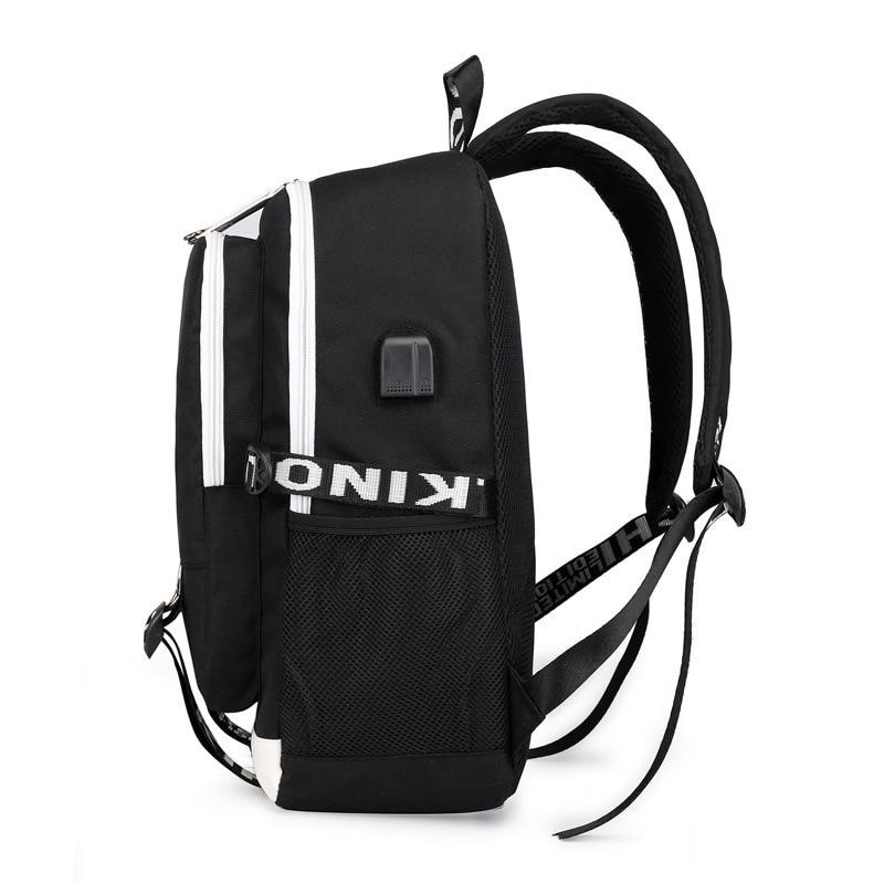carga multifuncional mochilas adolescentes portátil viagem bagpack escola sacos