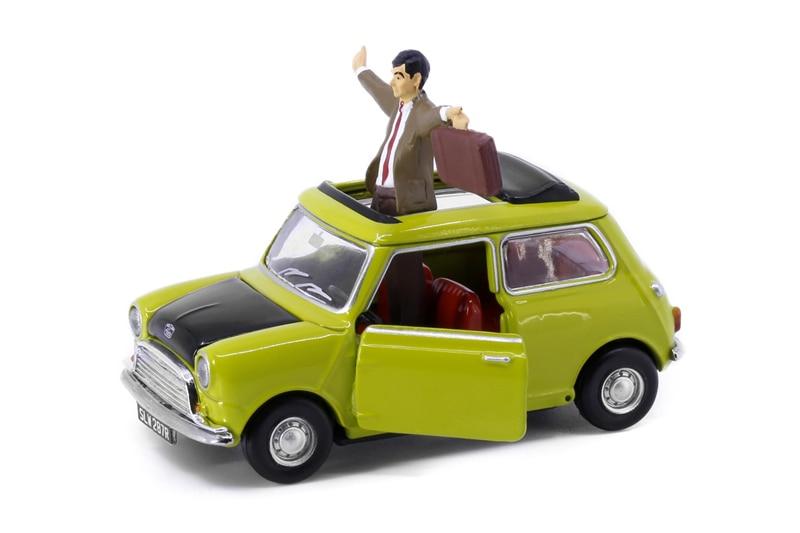 Pequeno carro de modelo sr. feijão 1:50