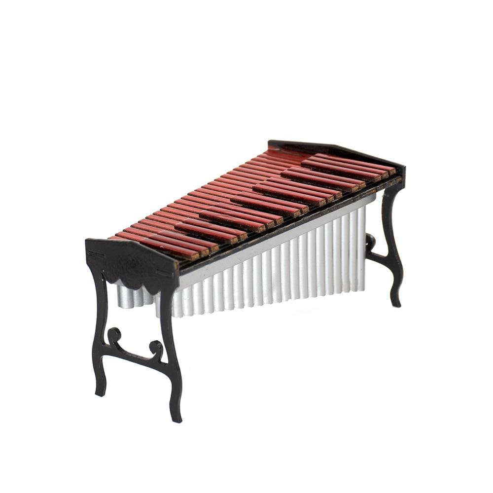 Miniatur Marimbaphon Xylophon Mini Musikinstrument Dekoration