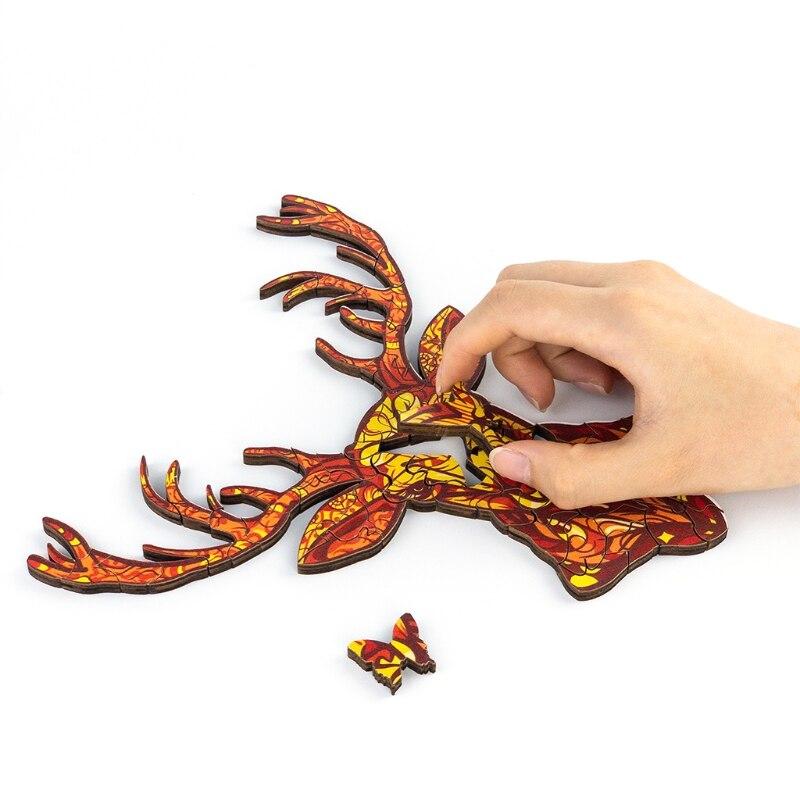 Q9qb educacional brinquedo quebra-cabeça para crianças foco