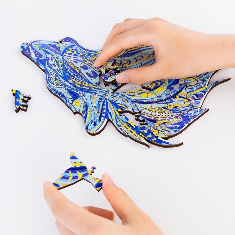 Q9qb collectable jigsaw para adultos liberação de