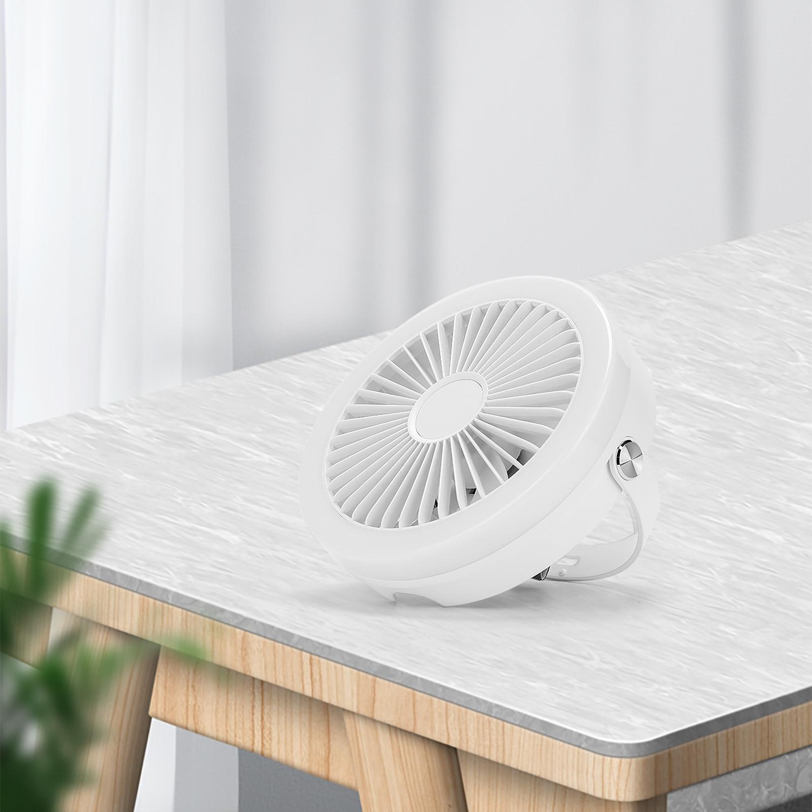 livre indoor ventiladores de refrigeração de viagem ventilador de teto desktop