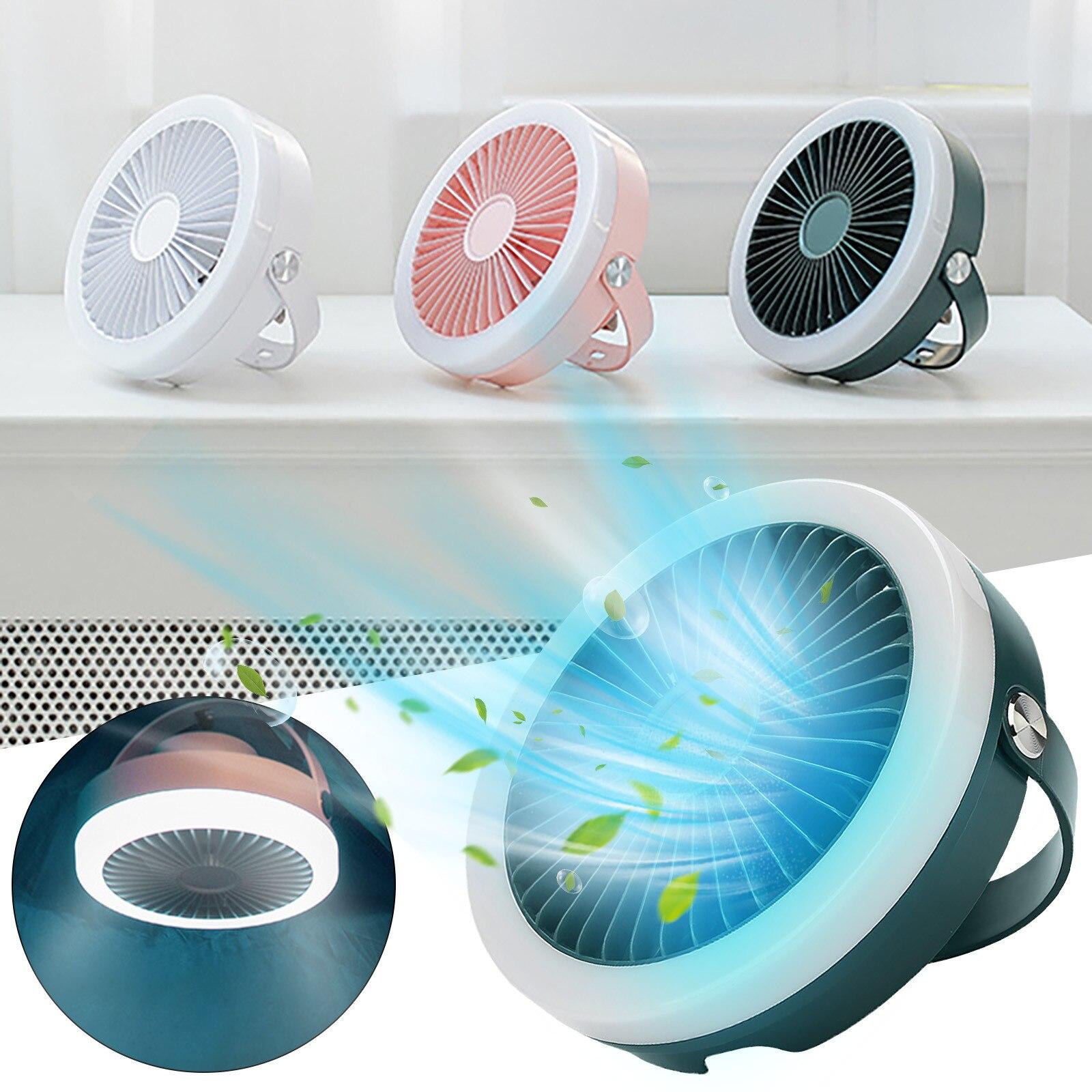 luz anel usb recarregável portátil ao ar