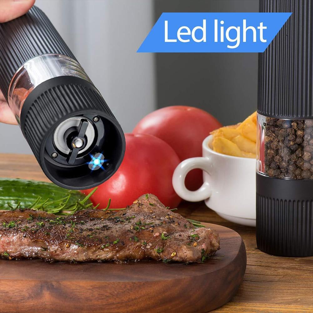 elétrico shaker fácil controle ajustável coarseness cozinha