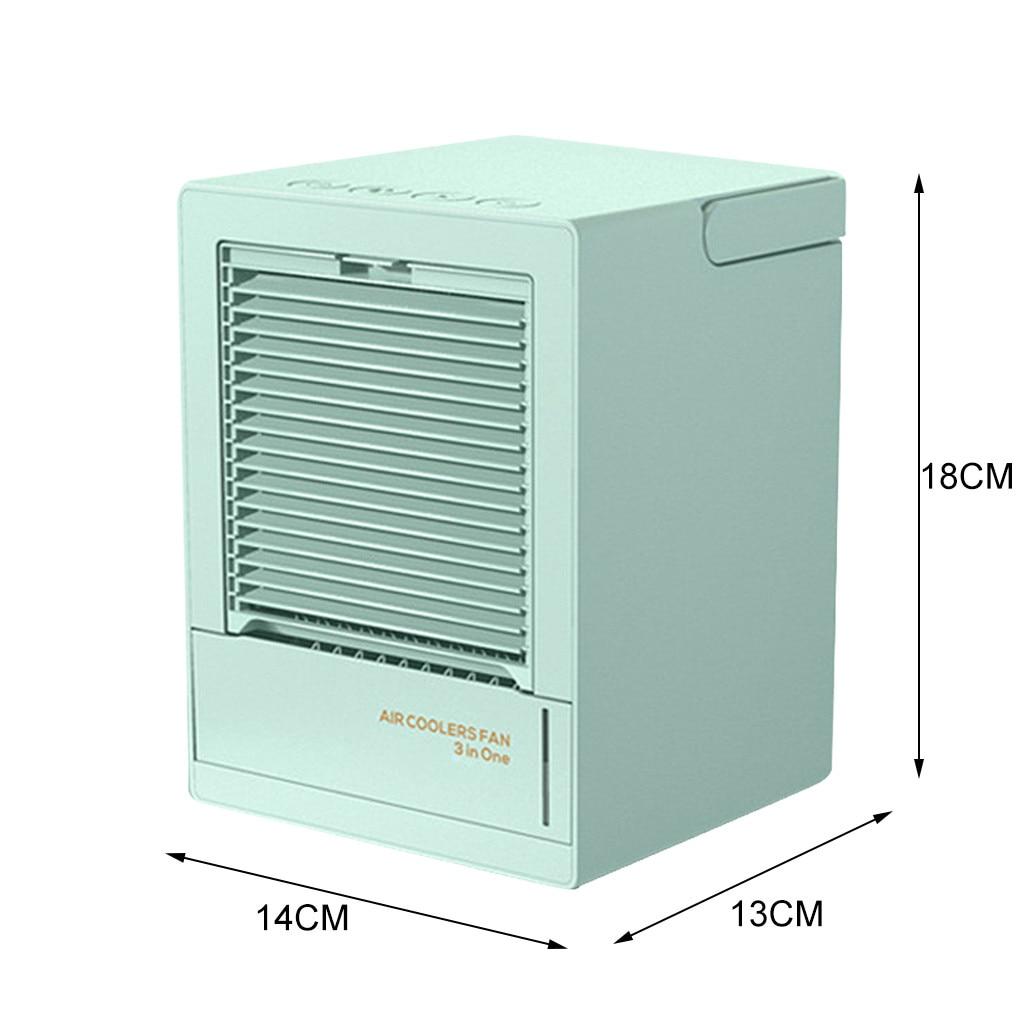 moda mudo desktop ventilador de escritório