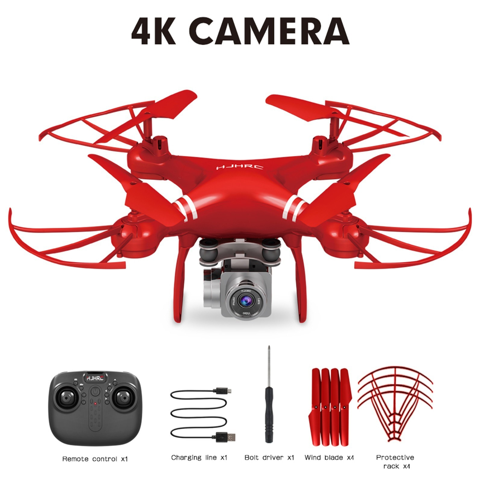 H43337230b2fa4319bfc7fbc555a769ccG - Hjhrc Four-axis Aerial Photography Aircraft Drone With Camera Hd 4k Wifi Fpv Foldable Drone Height Holding Headless Quadcopter
