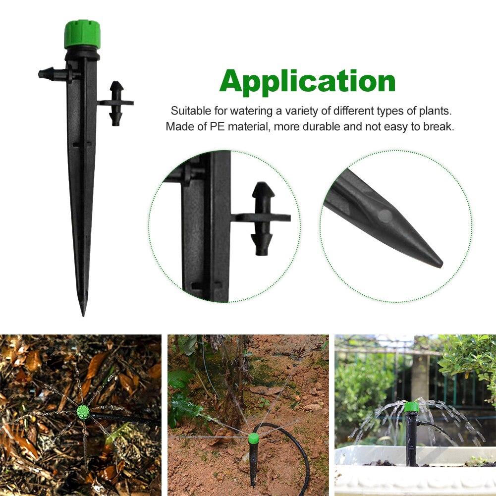 irrigação gotejamento emissor kit jardim ao ar