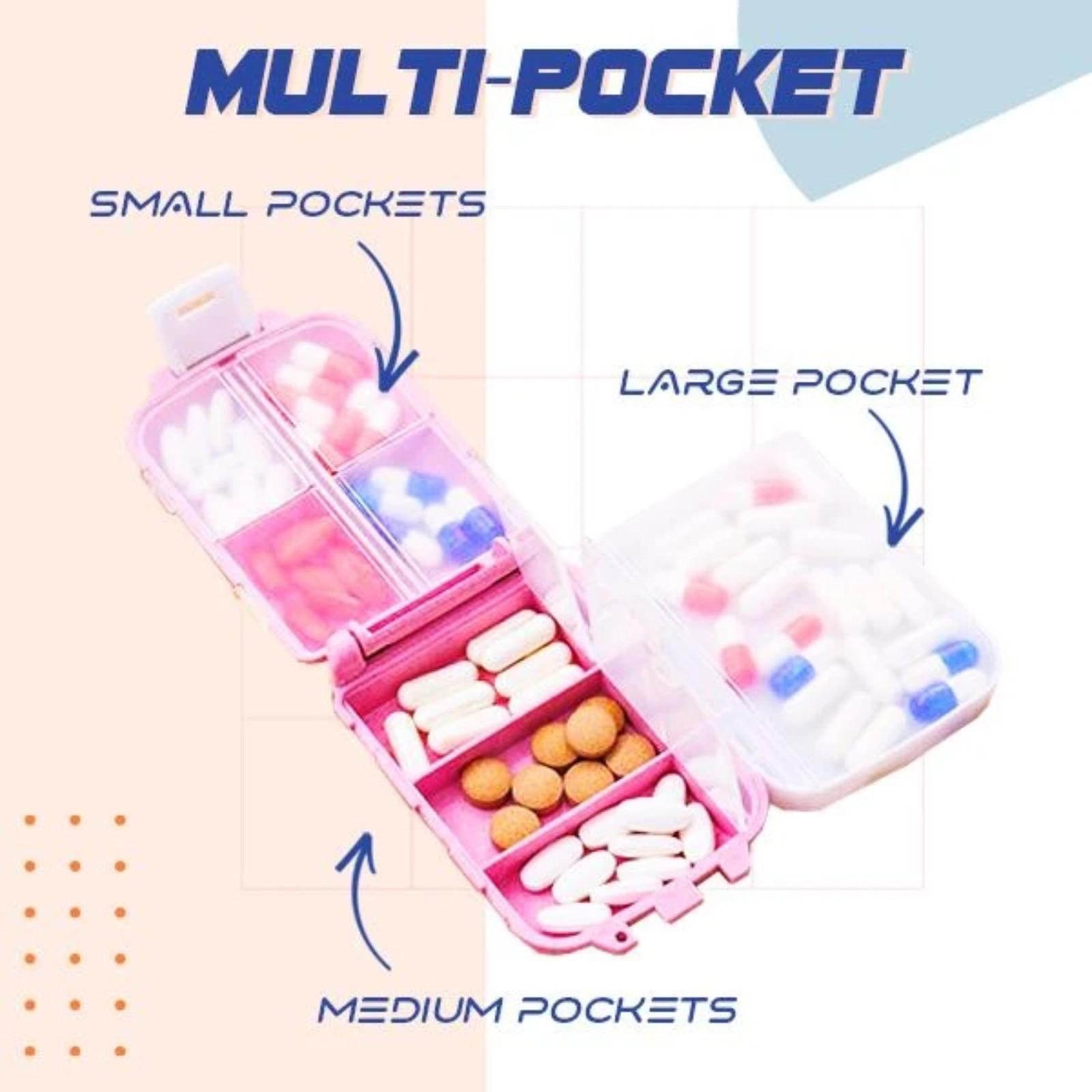 Triple Tier Mini Pill Box