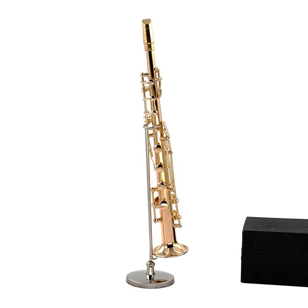 Miniatur Sopran Saxophon Mini Musikinstrument