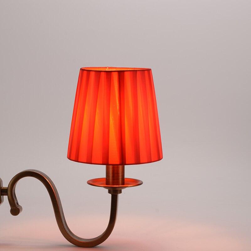Criativo lustre lâmpada sombra de mesa lustre
