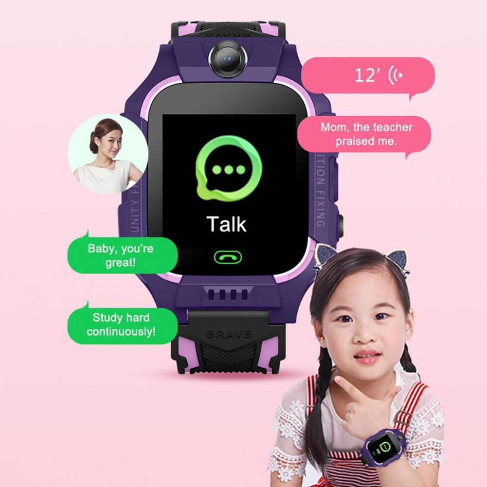 Crianças q19 relógio inteligente à prova dwaterproof
