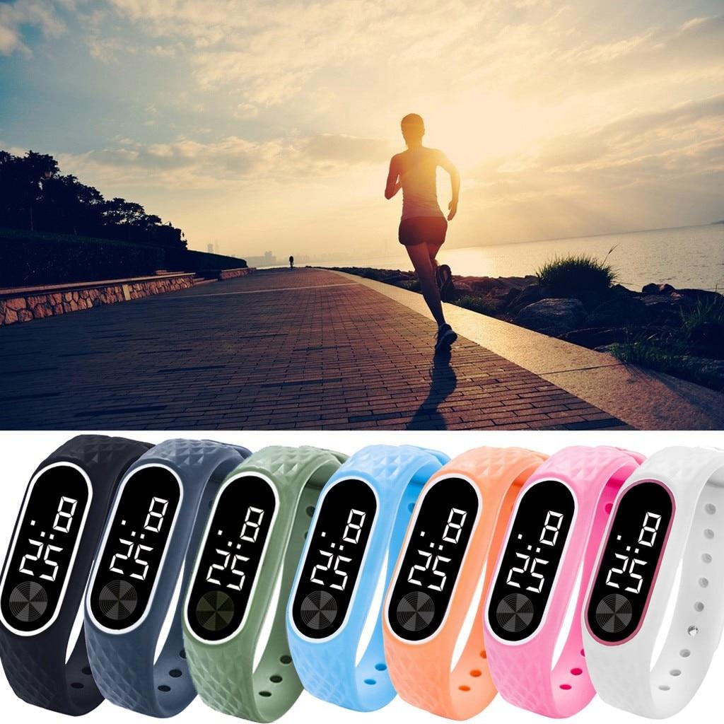 Sport Watch Led Beautiful Digital Display Bracelet Watch 2021