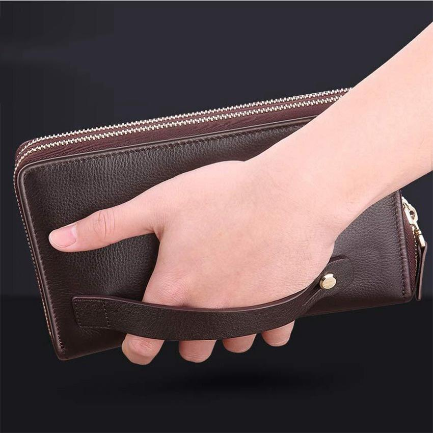 negócios carteira dos homens bolsa multi função banco cartão identificação