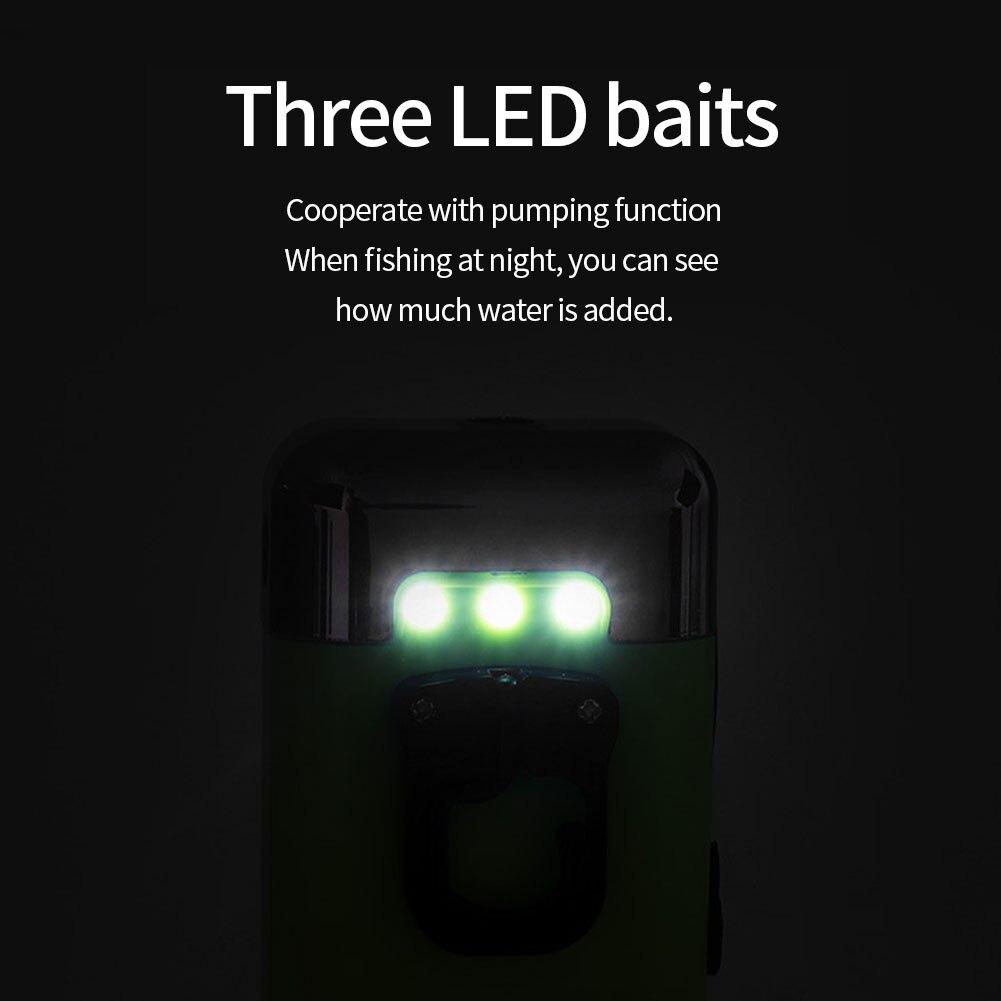 ruído ao ar livre aquário led iluminação