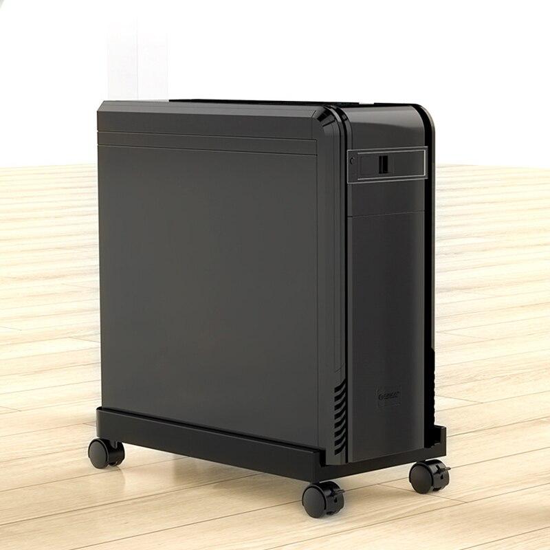 Suporte de cpu móvel desktop torre piso