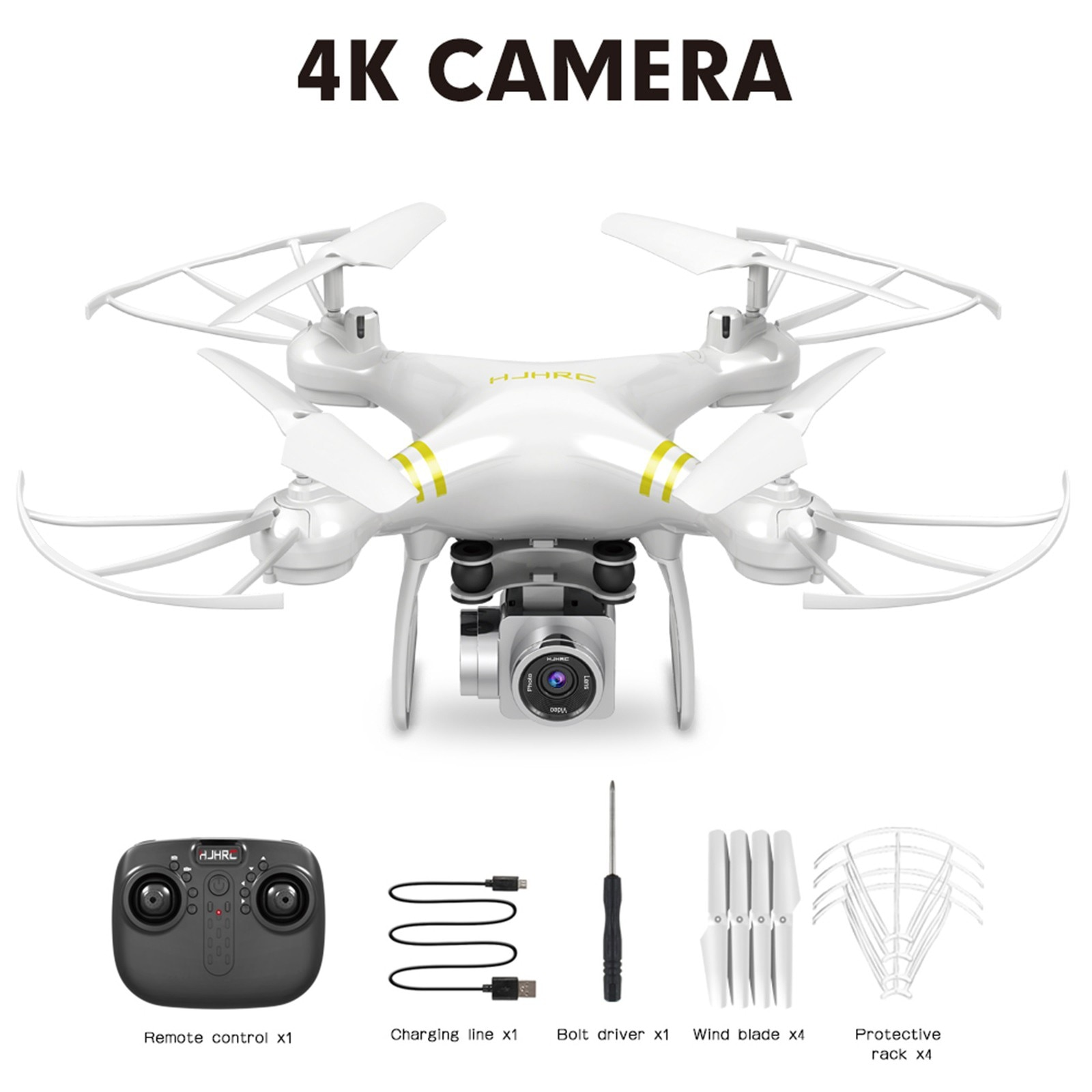 H60267bcaa8a64fd3ac4d619e6089e0d01 - Hjhrc Four-axis Aerial Photography Aircraft Drone With Camera Hd 4k Wifi Fpv Foldable Drone Height Holding Headless Quadcopter