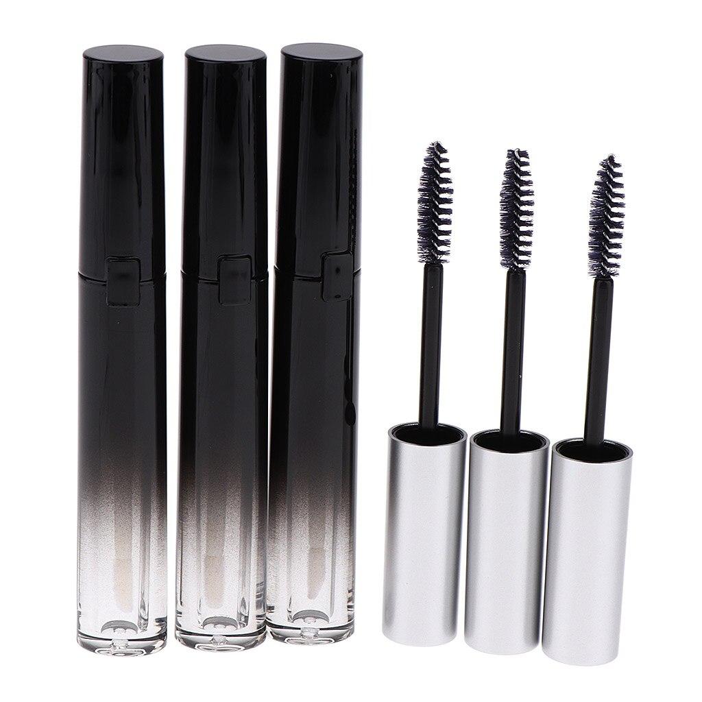 6x Empty Mascara Tube Eyelash Cream Lip Gloss Lipstick Vial/Bottle/Container