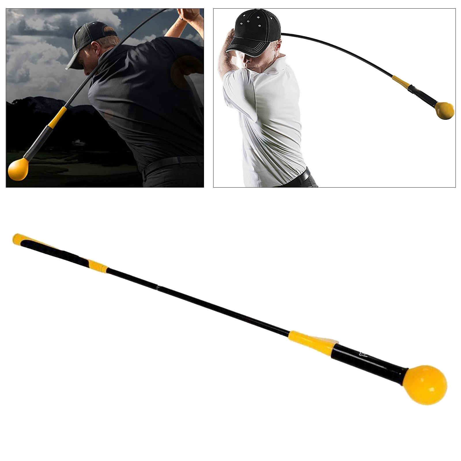 120cm Golf Indoor Outdoor Practice Swing Aids Tool Beginners Auxiliary Training Swing Exercise Stick Golf Equipment