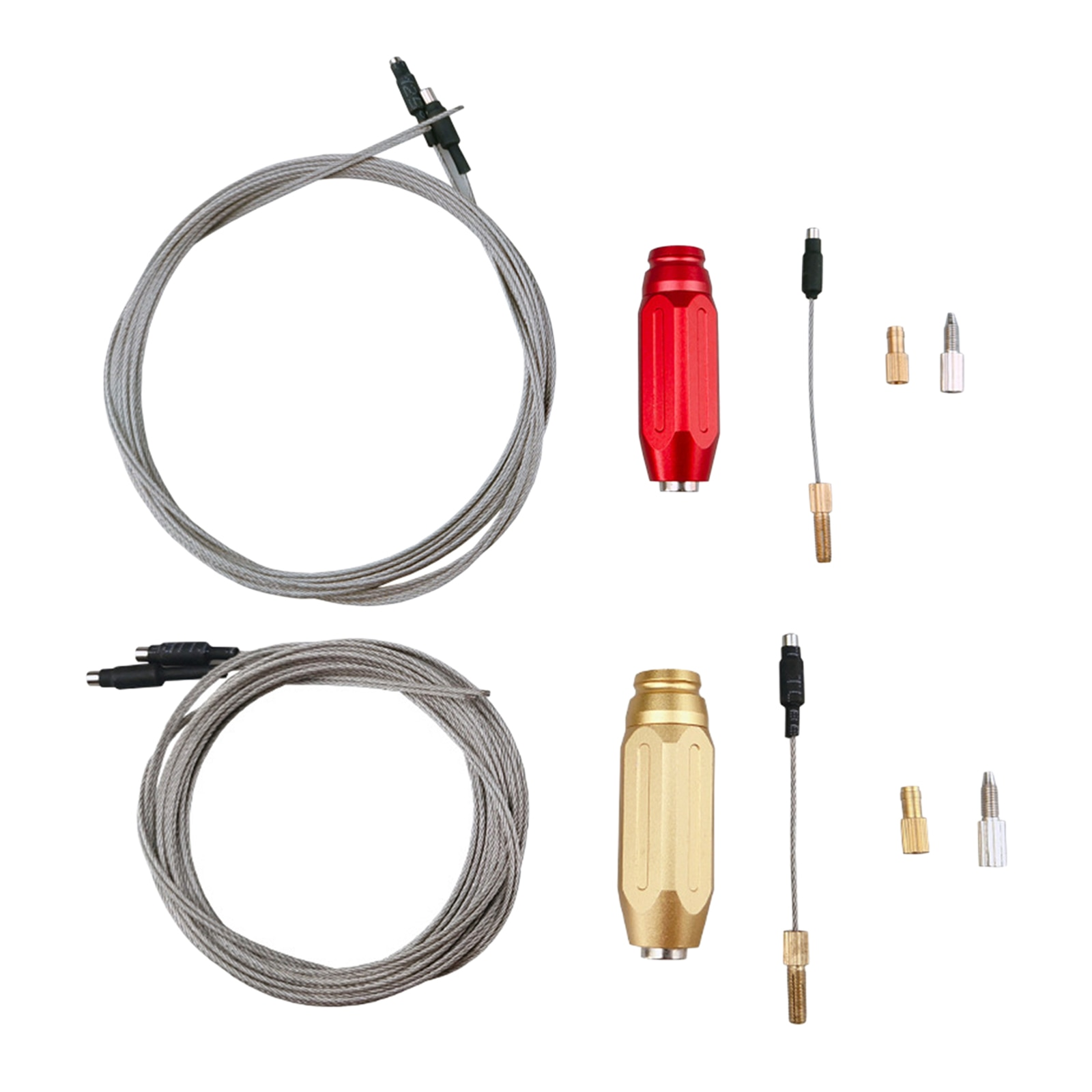 Bicycle Internal Cable Routing Tool Hydraulic Wire Inner Cable Guide With Magnet Wires Bike Frame Hydraulic Wire Cables