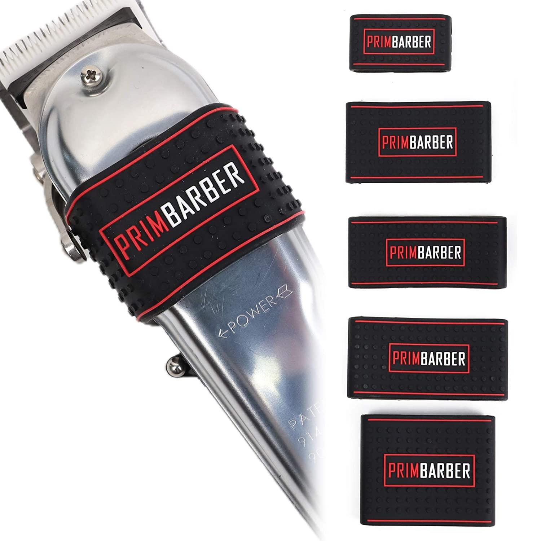 pcs antiderrapante barbeiro clipper bandas de resistência