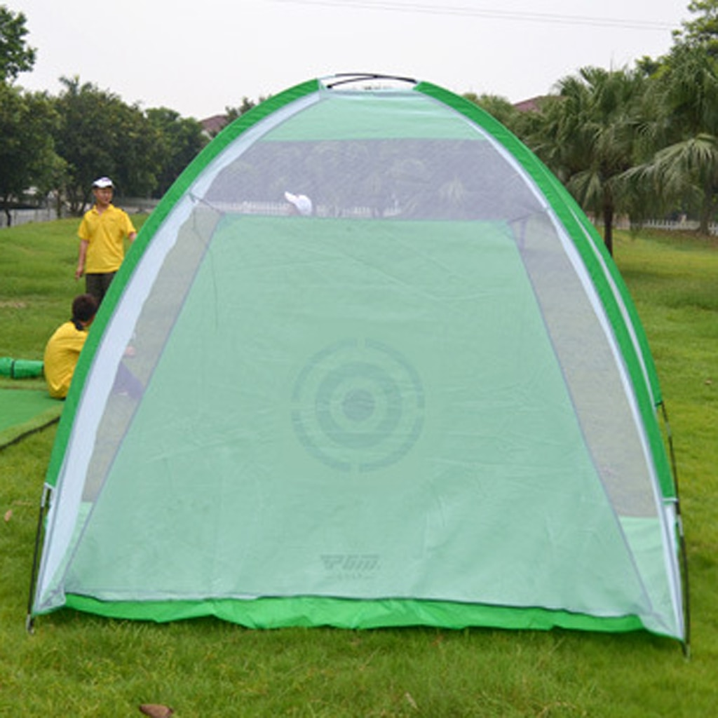 Golf Practice Net Backyard Golf Hitting Driving Target Swing Training Cage Aids