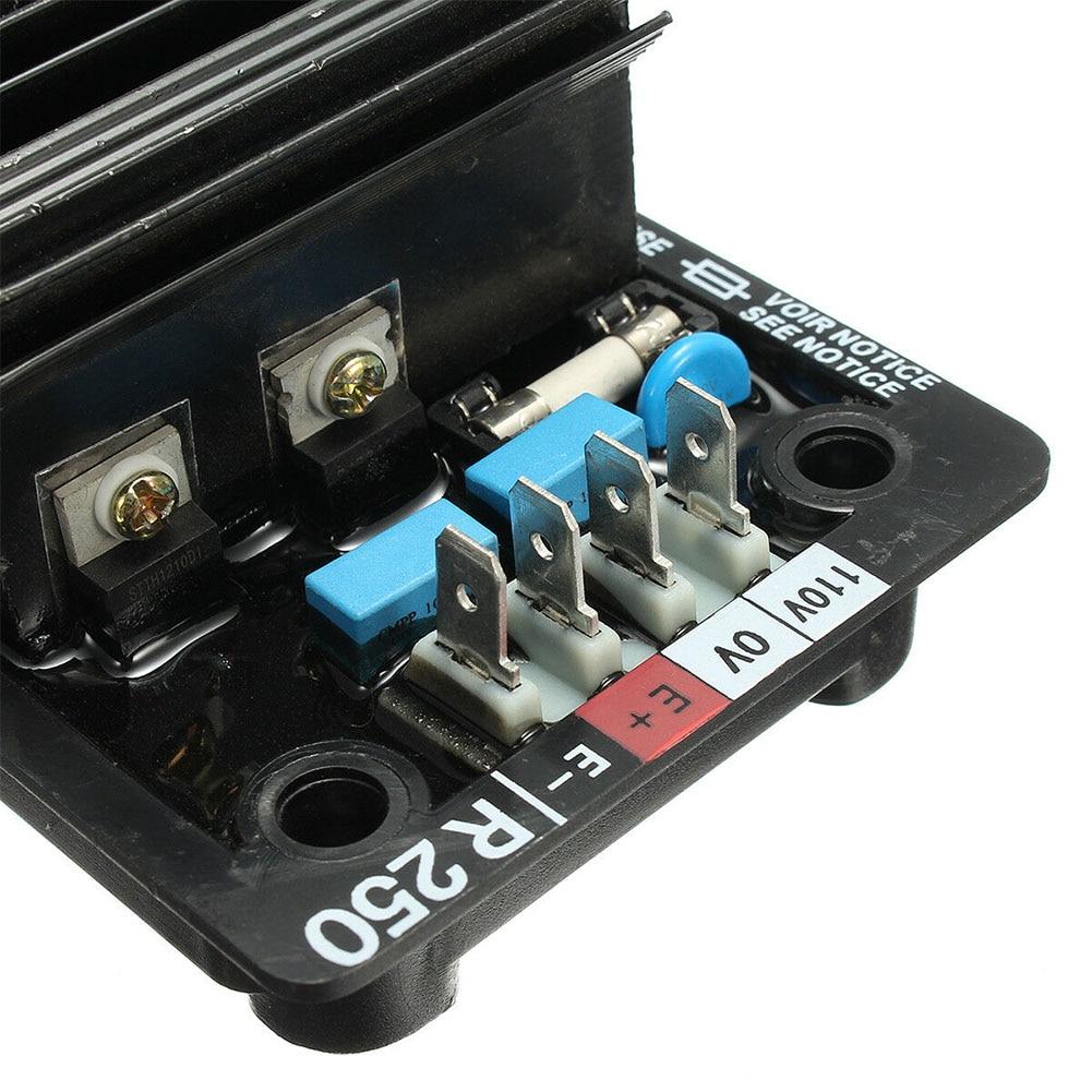 Avr r250 módulo de ferramenta componentes regulador