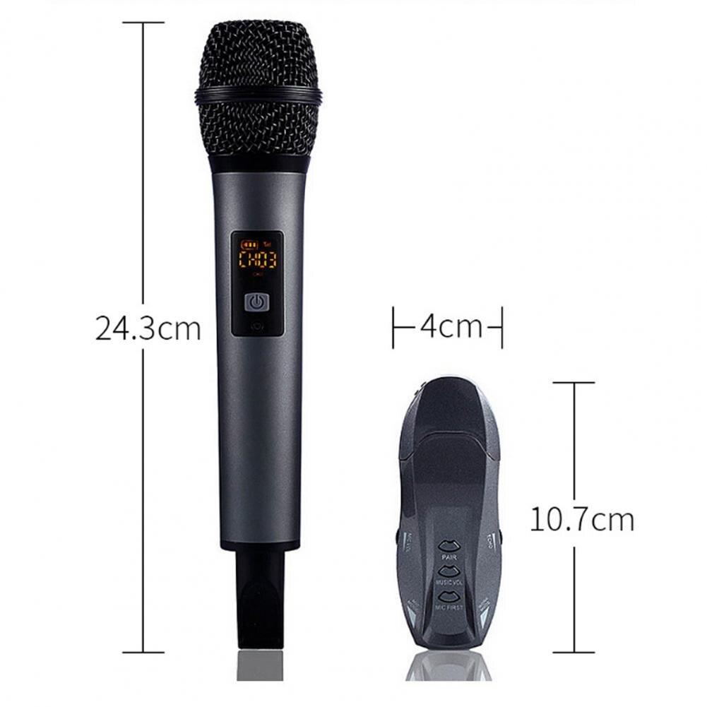 Handheld portátil USB Sem Fio Bluetooth Microfone