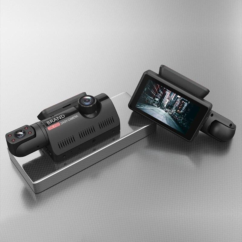 Destacável a68 suporta multi-idioma carro gravador de