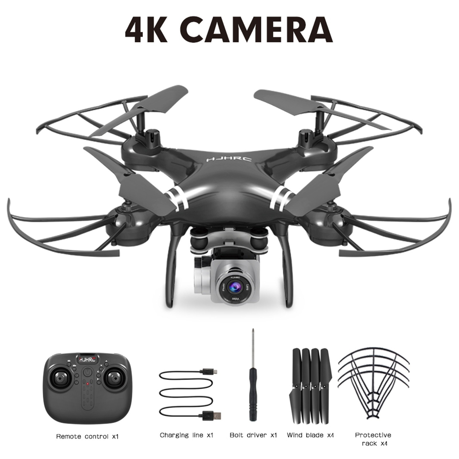 H6e3e4a5589244aa98f7438a532ccddf9y - Hjhrc Four-axis Aerial Photography Aircraft Drone With Camera Hd 4k Wifi Fpv Foldable Drone Height Holding Headless Quadcopter