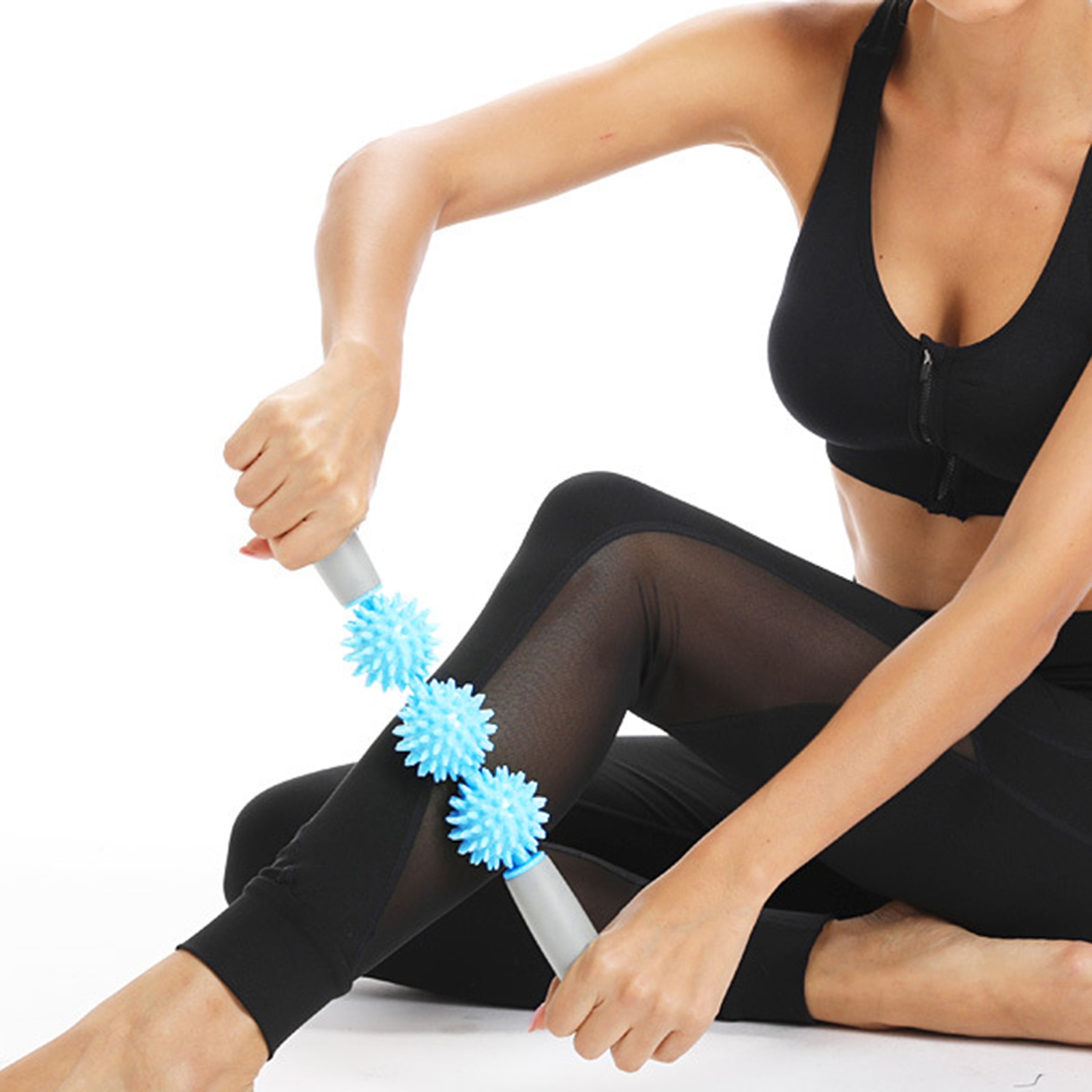 Pressure Point Muscle Roller Stick Cellulite Massager Fascia Fat Remover