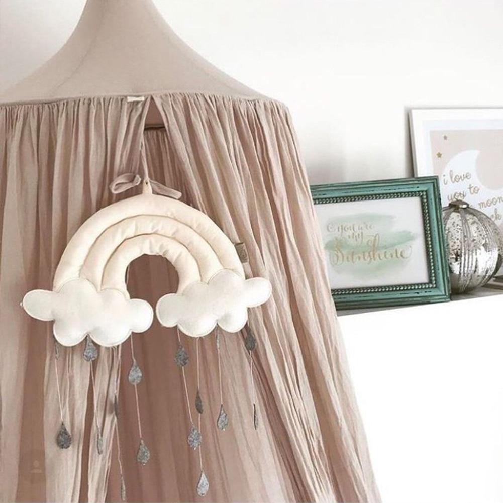 pingente de brinquedo quarto tecido tenda decoração