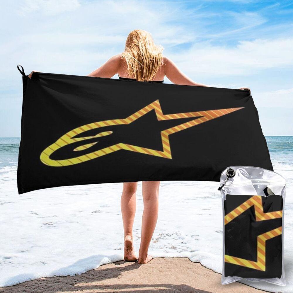 Alpine star grande toalha de praia toalhas