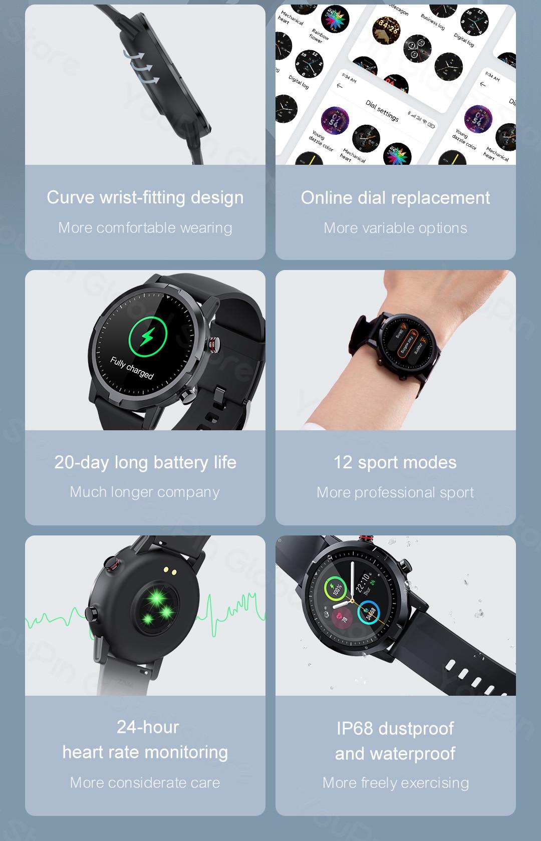 Haylou RT LS05S Smartwatch 8