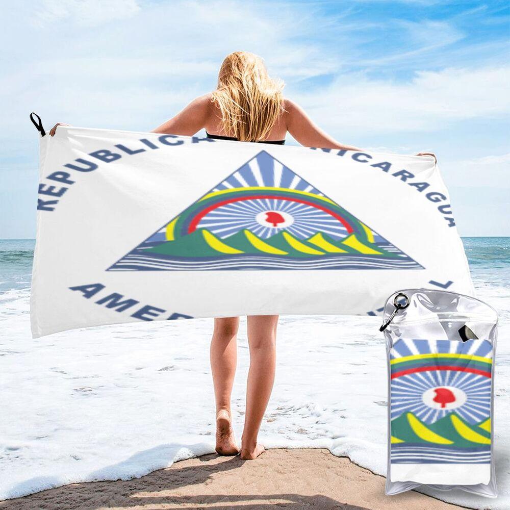 Nicarágua 1418 grande toalha de praia toalhas