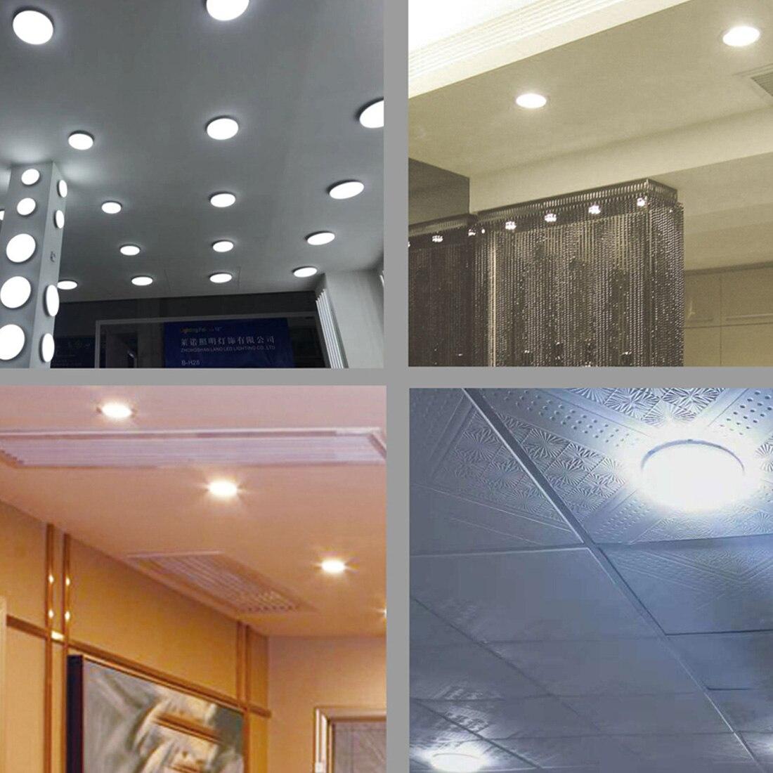 Luminária de teto em led regulável, à