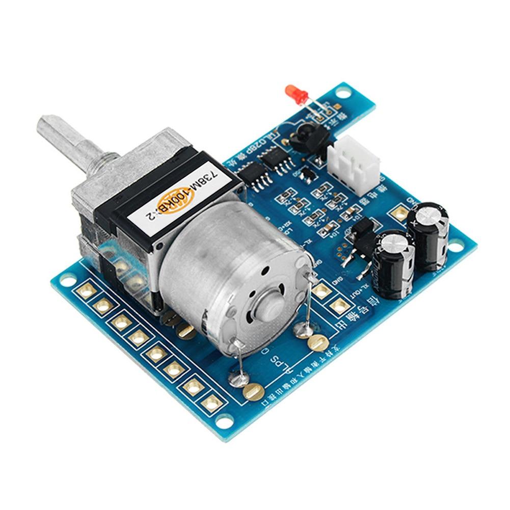 motor controle remoto potenciômetro infravermelho dc 9v